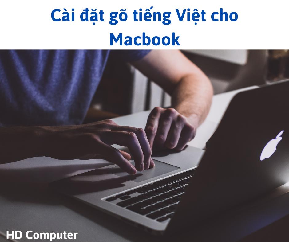 Cài đặt tiếng Việt cho Macbook