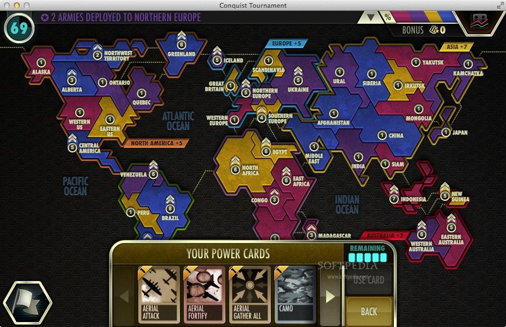 Game Conquist Tournament cho macbook