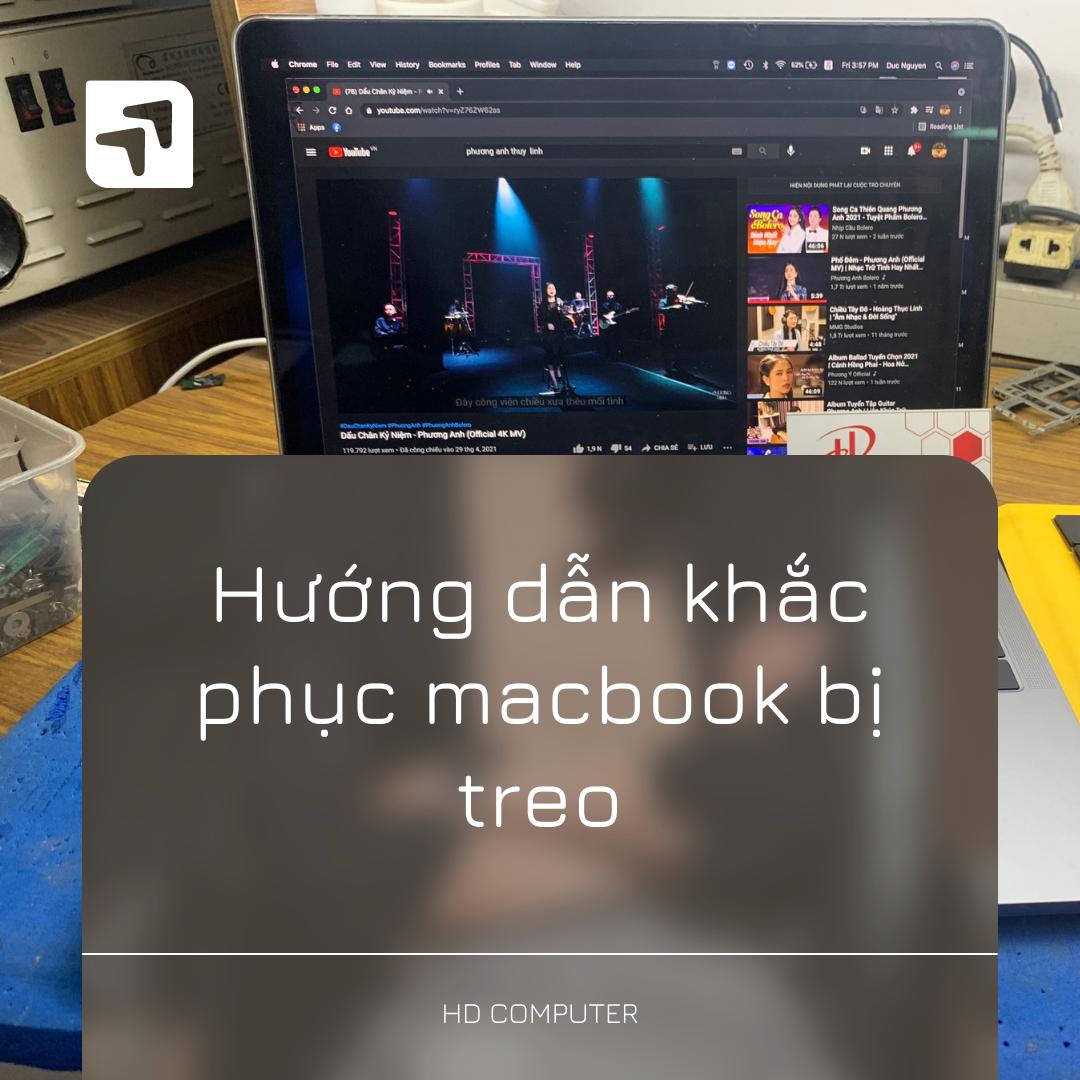 Khắc phục macbook bị treo
