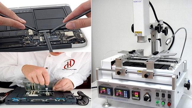 Sửa chữa Laptop lấy liền với nhiều thiết bị hiện đại