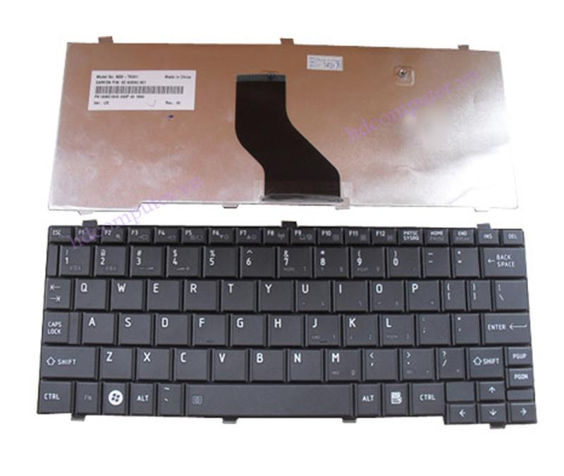 Ban phim laptop Toshiba NB200