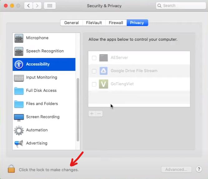 cài đặt GoTiengViet trên Macbook