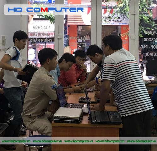 Tiếp nhận - tư vấn - sửa chữa Laptop