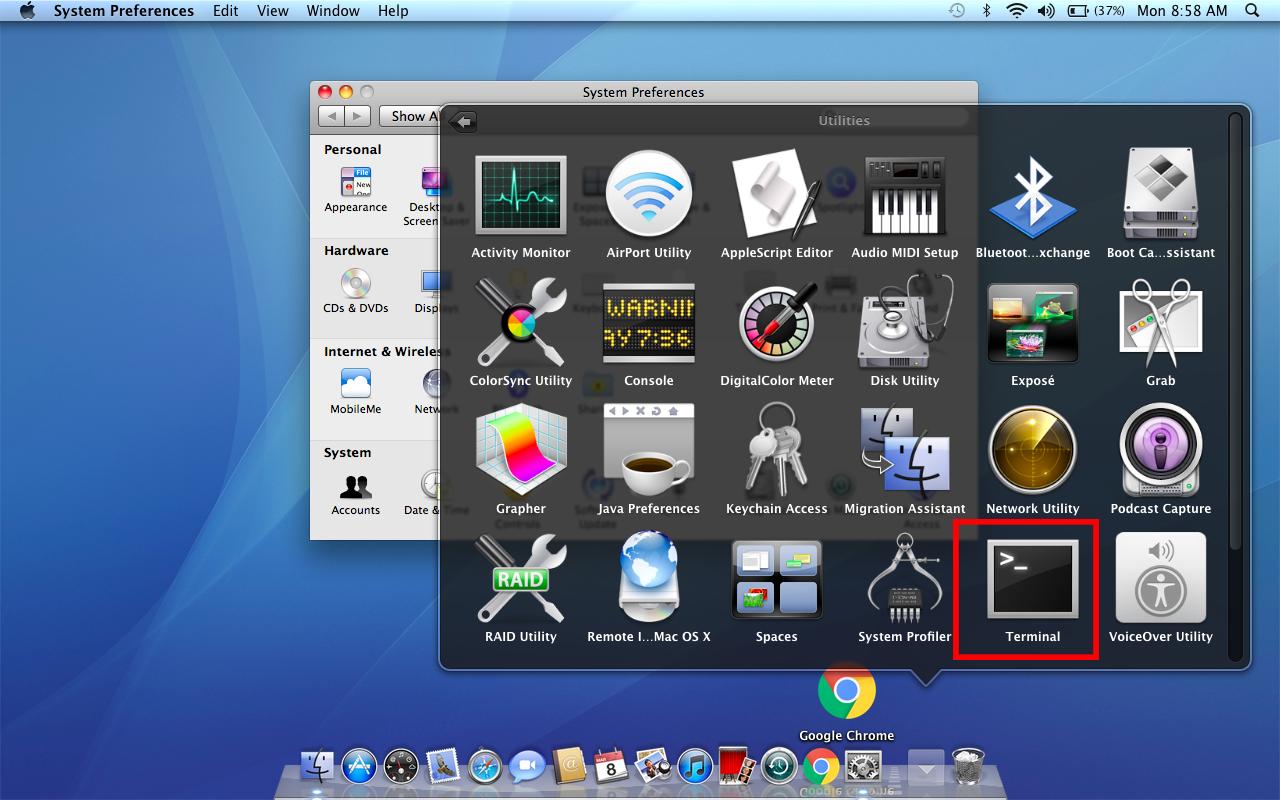 Đổi định dạng file trên macbook