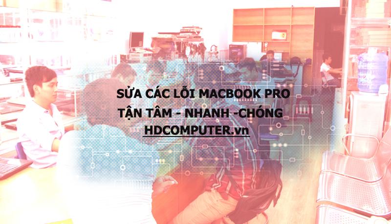 Địa chỉ Cài đặt - Sửa chữa Macbook Pro Uy tín tại HCM