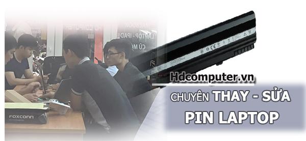 Thay pin Laptop chính hãng - chất lượng tại HCM