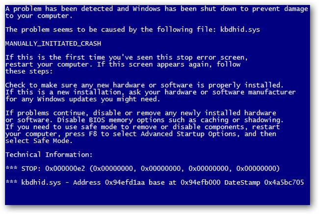 Sửa Laptop bị màn hình xanh như thế nào?