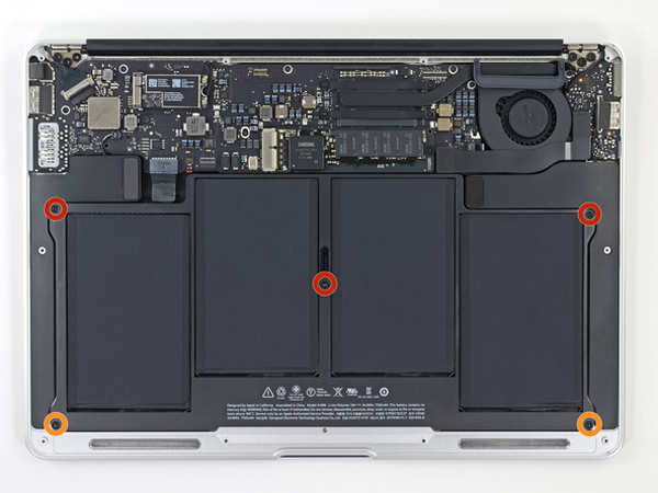 Hướng dẫn thay Pin cho Macbook Air 13