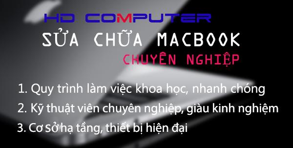 Vì sao bạn nên sửa Macbook tại HDcomputer?