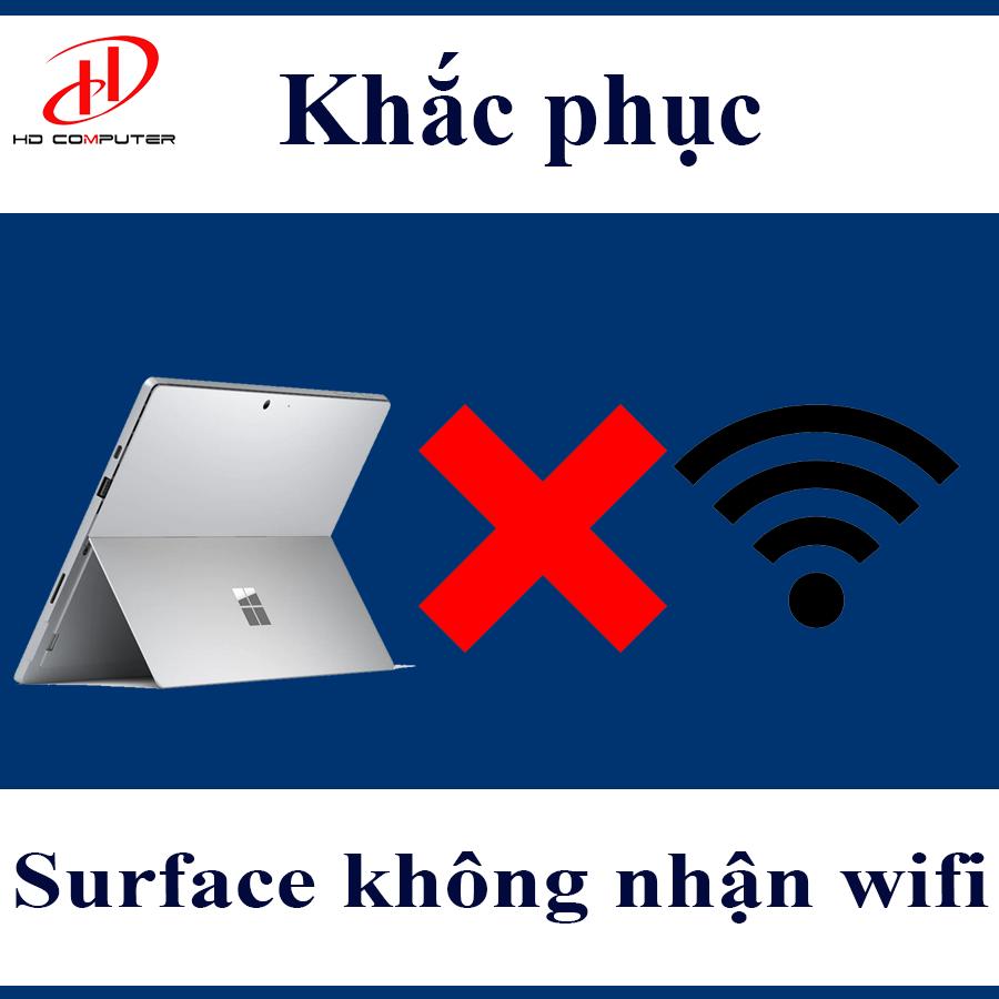 Surface không nhận wifi