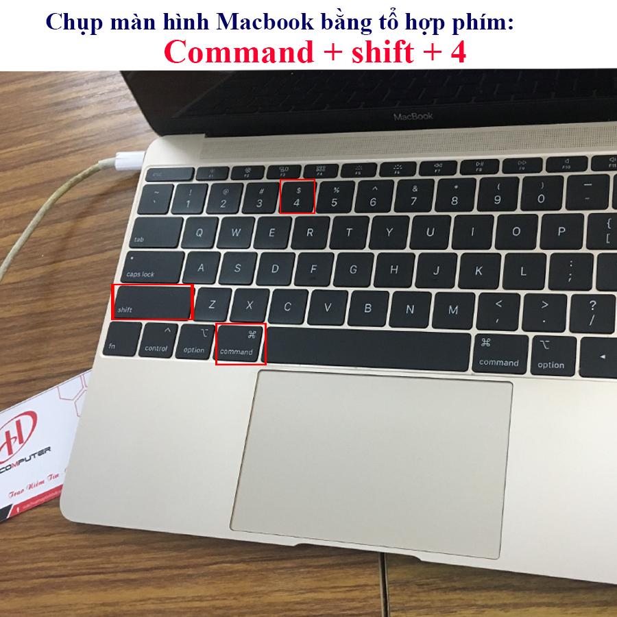 Chụp màn hình trên Macbook