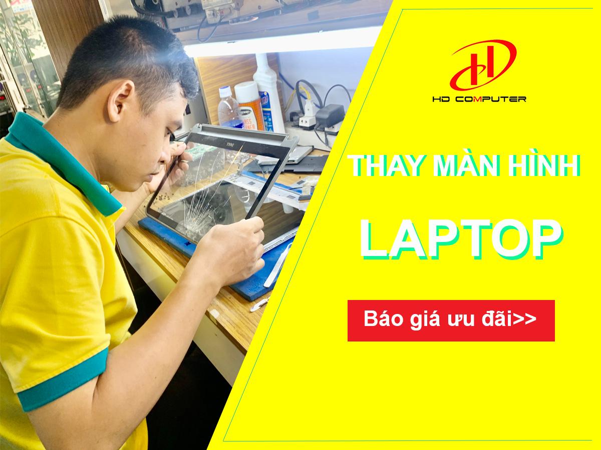 Bảng giá thay màn hình laptop dell tại HD Computer