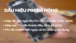 Sửa chữa và thay thế Pin Iphone, Ipad chất lượng