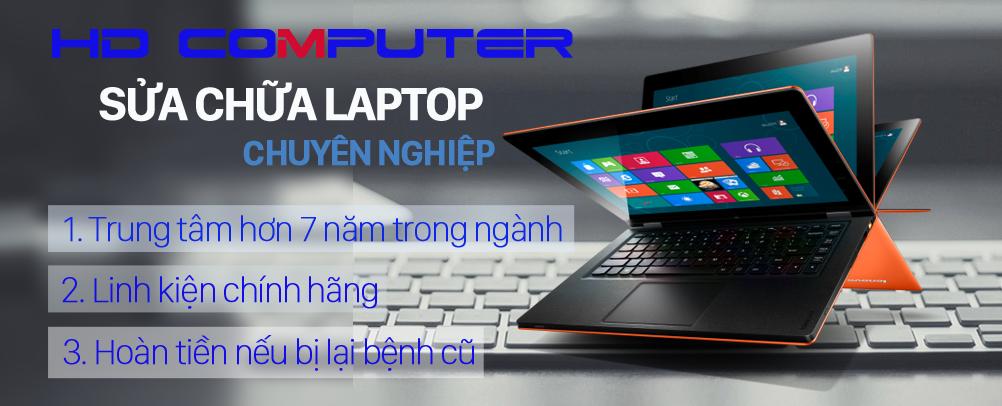 Cơ hội vàng tiết kiệm cả triệu đồng khi sửa laptop