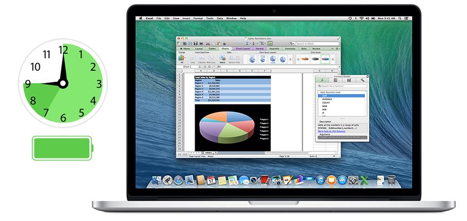 Thủ thuật giúp cải thiện Pin cho MacBook