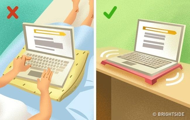 Cách sử dụng Laptop đúng cách giúp kéo dài tuổi thọ sử dụng