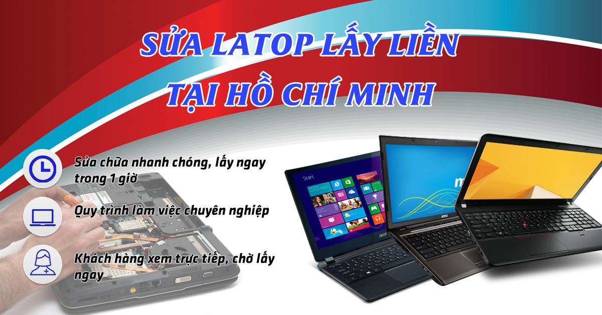 Vì sao bạn nên chọn dịch vụ sửa Laptop lấy liền tại HD Computer