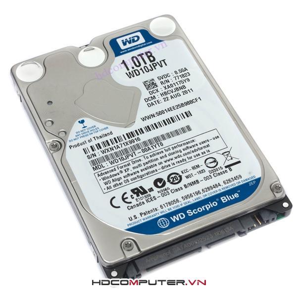 Ổ cứng Western Digital HDD 1Tb SATA III 5400RPM