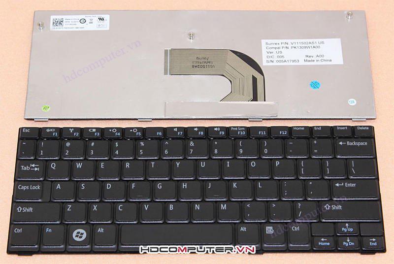 Bàn phím Laptop DELL Mini 10 ( Inspiron 1012, 1018 )