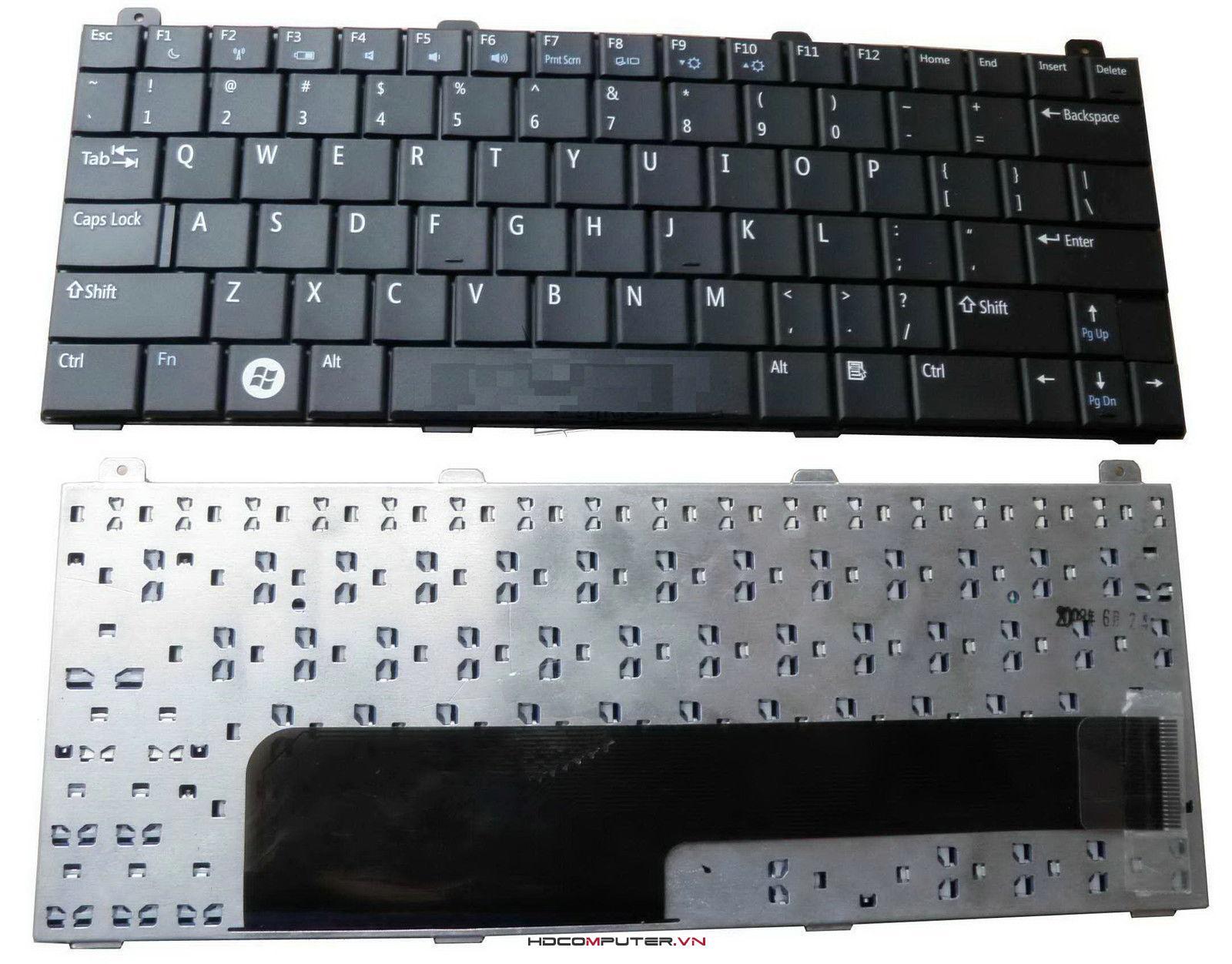 bàn phím DELL Mini 12, Inspiron 1210