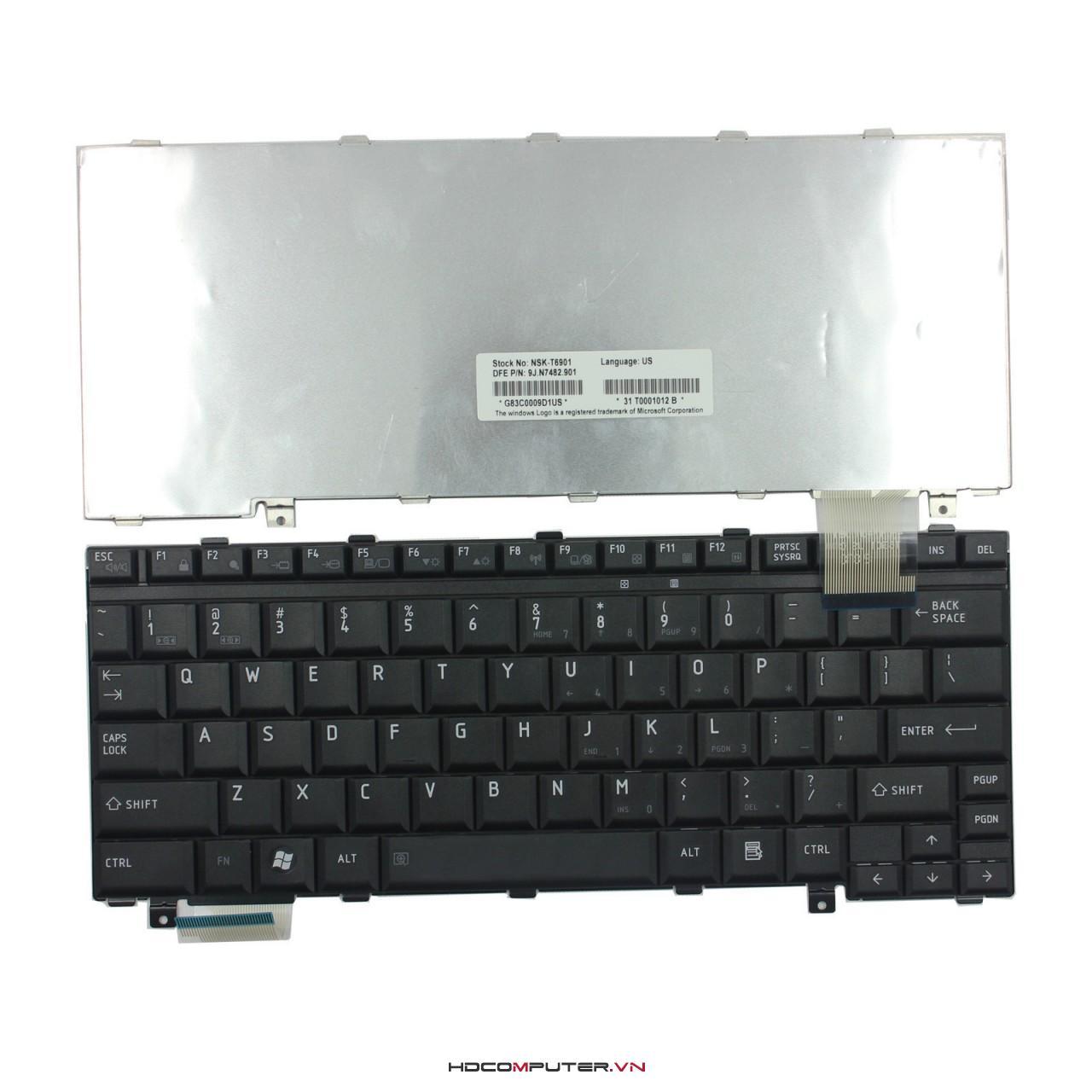 bàn phím toshiba Satellite U300, U305 đen new