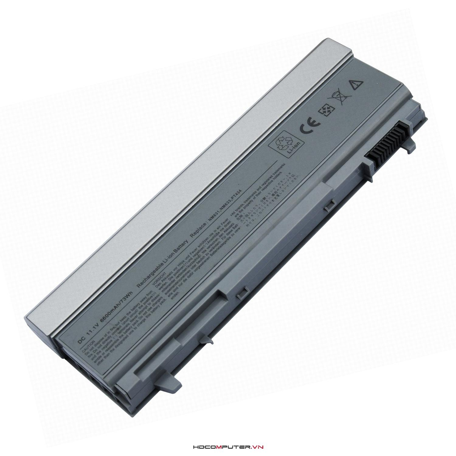 Pin laptop DELL Latitude E6400, E6410,  E6500, E6510, WorkStations M2400, M4400, M6400, M4500